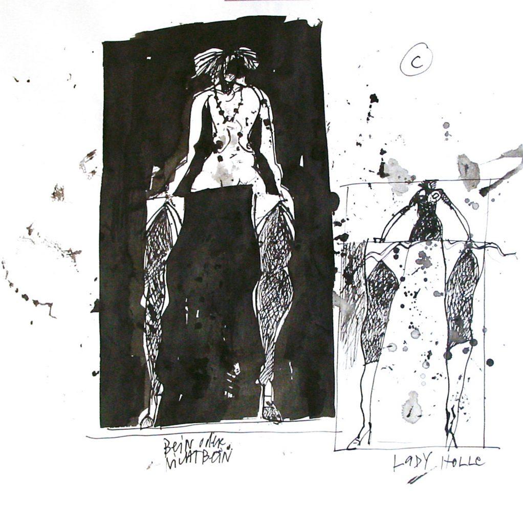 Skizze lustwandeln C/III