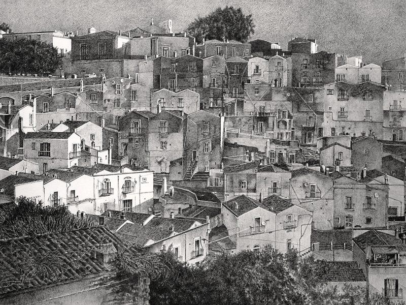 Zeichnung Alba — Monte Sant Angelo