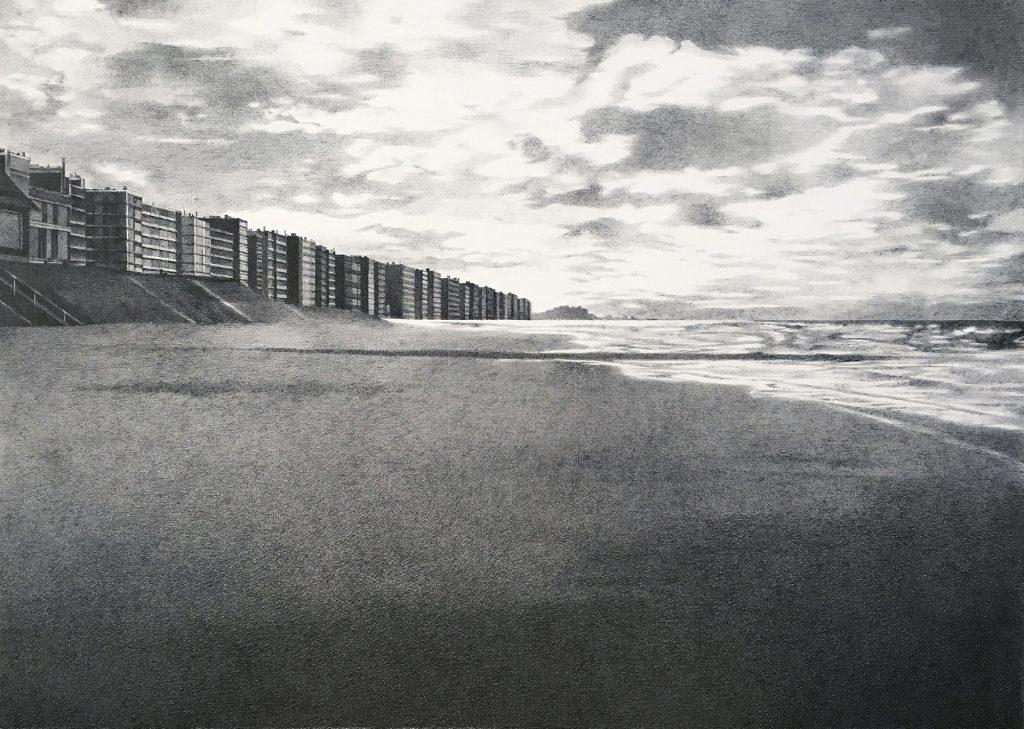 Zeichnung Oostende