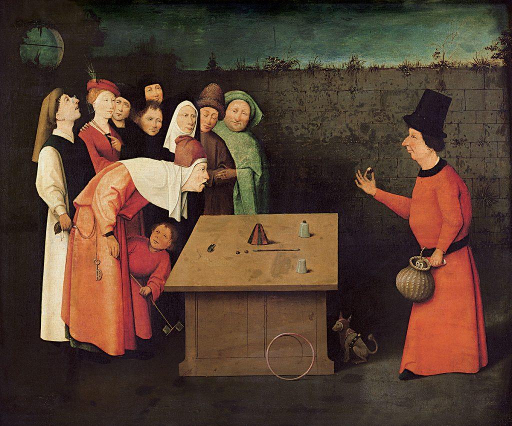 """Hieronymus Bosch's """"Gaukler"""" (1502)"""