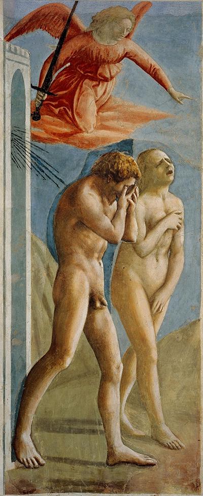 Adam & Eva, Brancacci-Kapelle