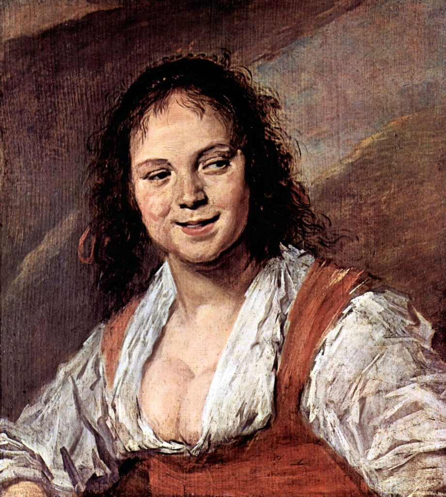 Frans Hals: «Die Zigeunerin»; auch «Zigeunermädchen», 1629. Louvre, Paris.